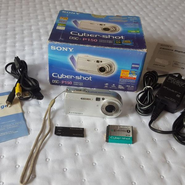Câmera digital cyber-shot dsc - p150 - sony