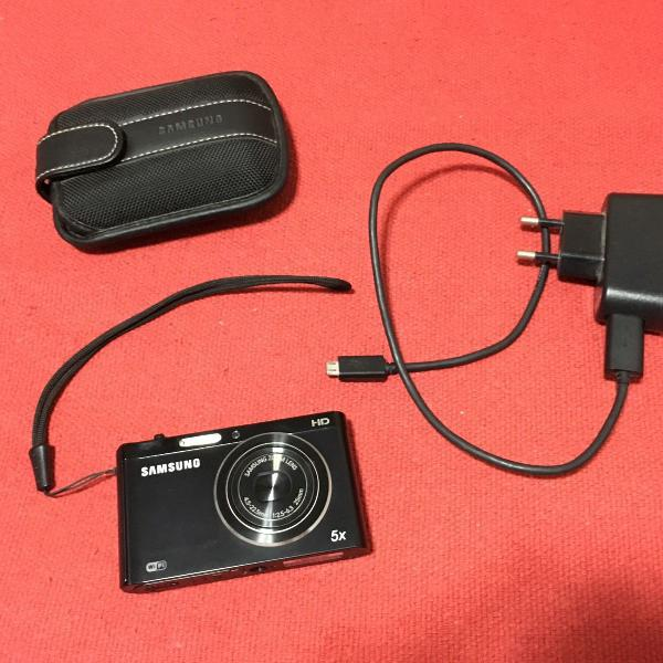 Câmera digital hd samsung