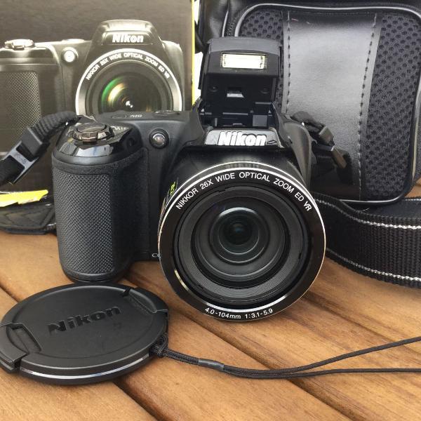 Câmera digital nikon coolpix l330