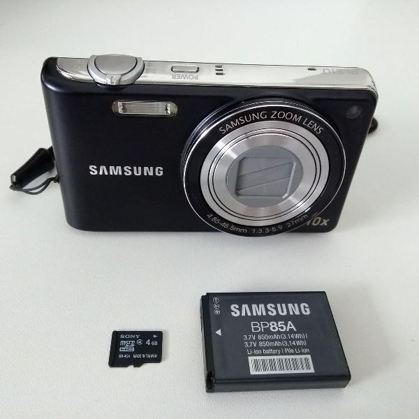 Câmera digital samsung pl210