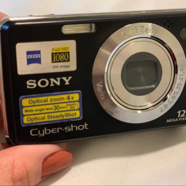Câmera digital sony cybershot dsc w220 12.1 megapixels
