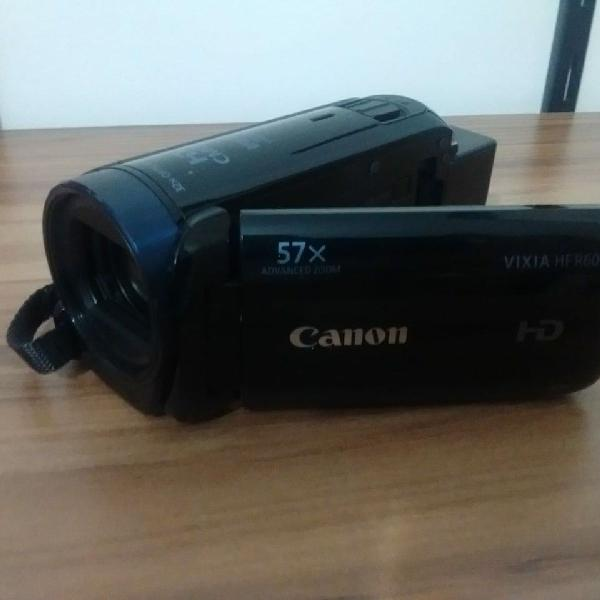 Câmera filmadora canon vixia hf r600 full hd