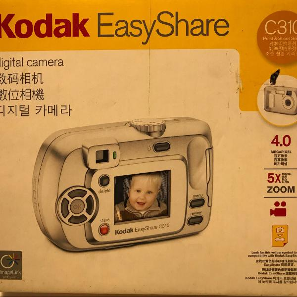 Câmera fotográfica digital kodak easy share c310