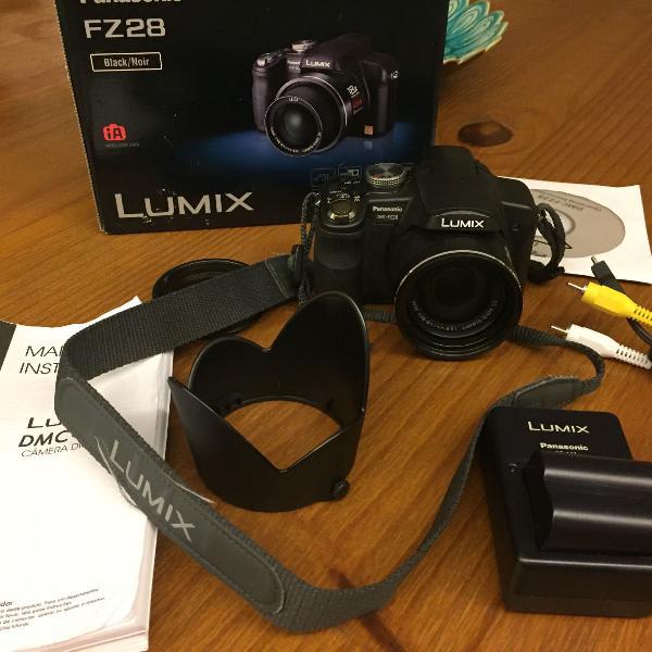 Câmera fotográfica digital panasonic lumix fz28