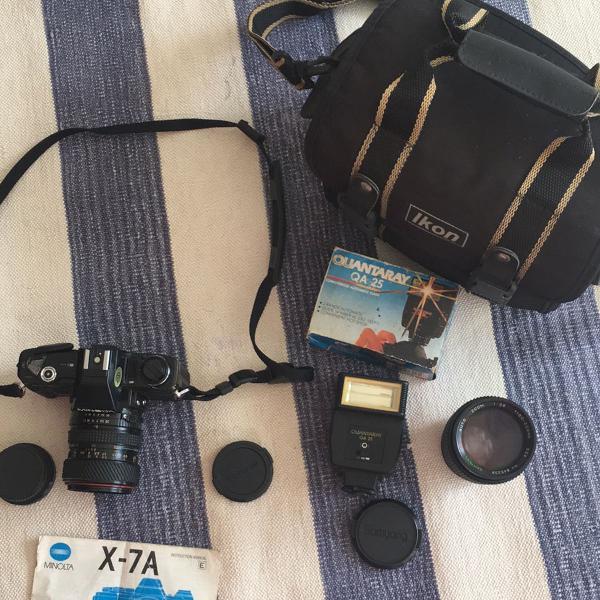 Câmera fotográfica minolta x-7a