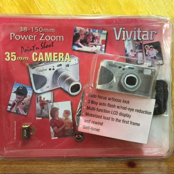 câmera fotográfica pointn shoot - vivitar