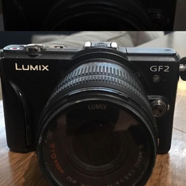 Câmera lumix panasonic gf2