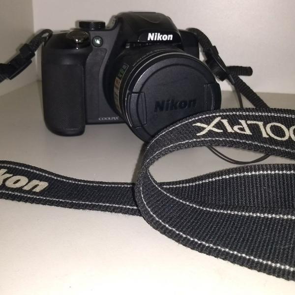Câmera nikon coopix p600 super zoom 60x