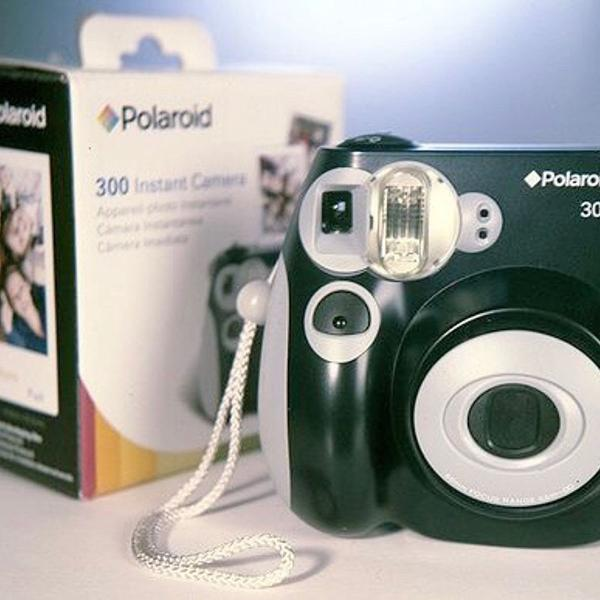 Câmera polaroide