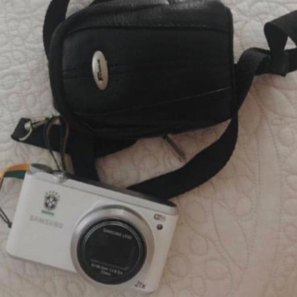 Câmera samsung branca edição ilimitada