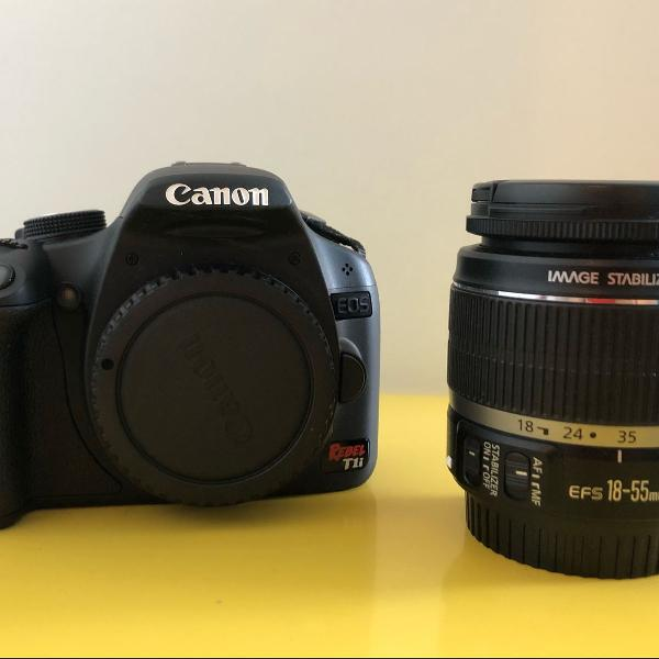 Câmera semi profissional canon