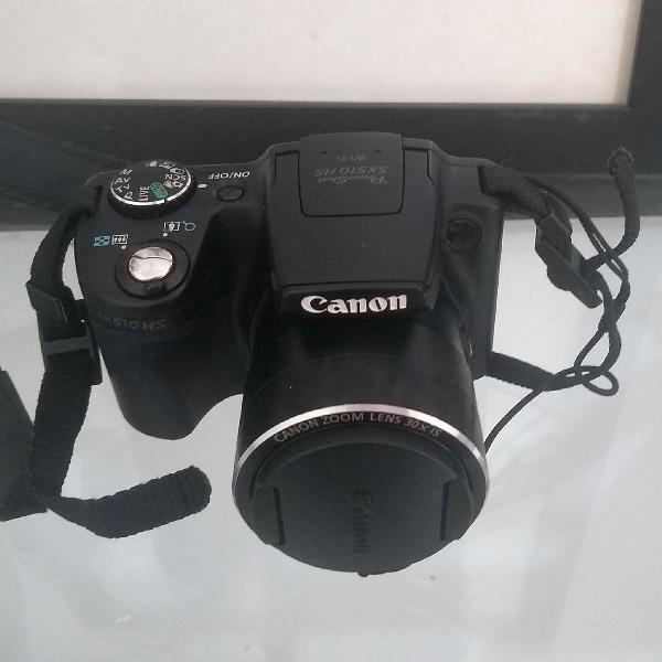Câmera semi profissional canon sx510 hs