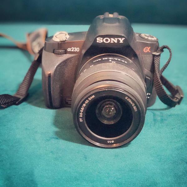 Câmera sony alpha