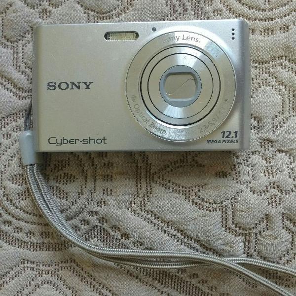 Câmera sony cyber shot