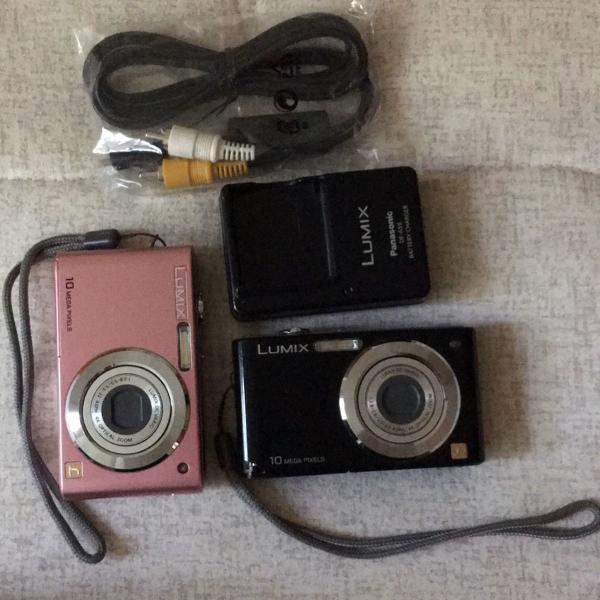 Câmeras fotográficas lumix