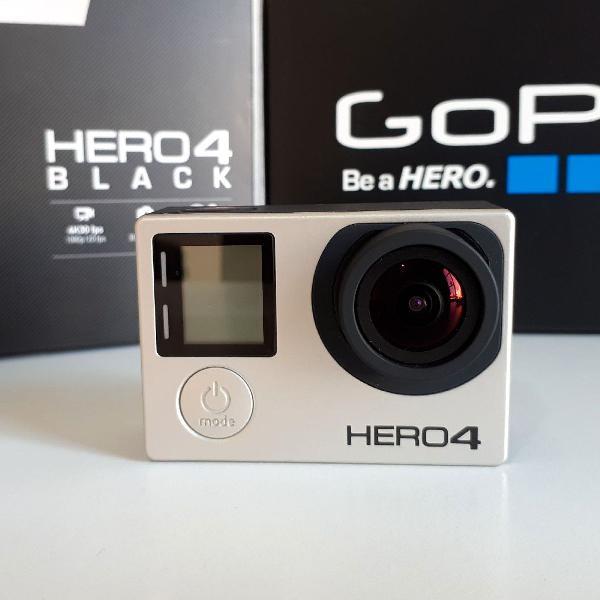 Gopro hero 4 - black edition + acessórios