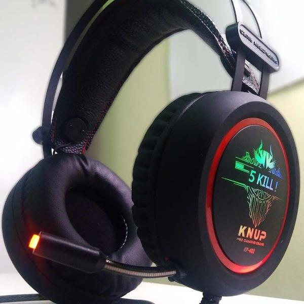 Headset gamer 7.1 pc xbox ps4 notebook