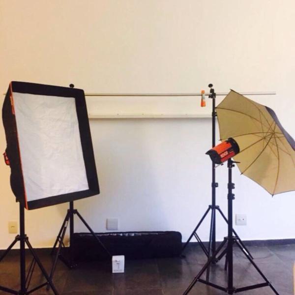 Kit flash estúdio mako