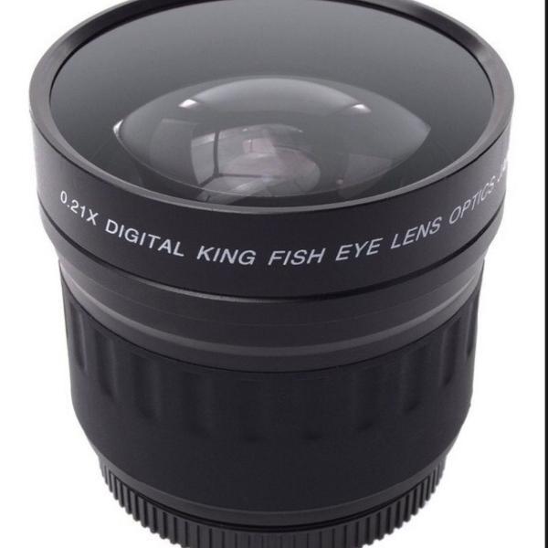 Lente olho de peixe
