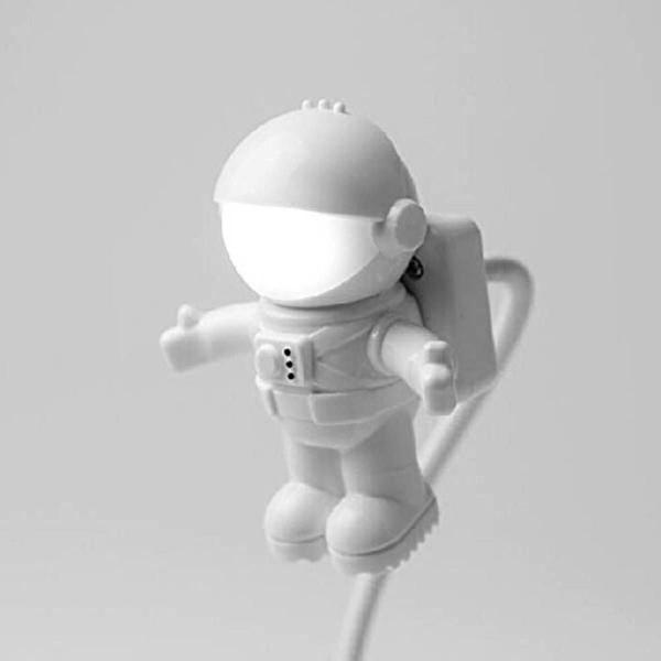 Luminária usb led astronauta