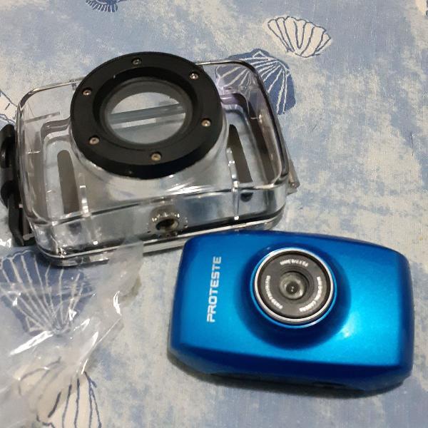 Mini câmera digital c capa a prova d'água
