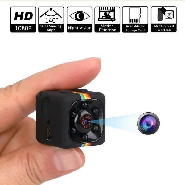 Mini micro câmera filmadora espiã noturna sq11 full hd