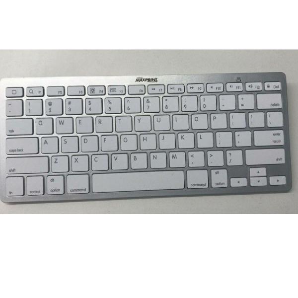 Mini teclado bluetooth branco