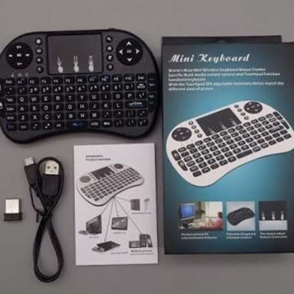 Mini teclado keybord para tv smart e outros