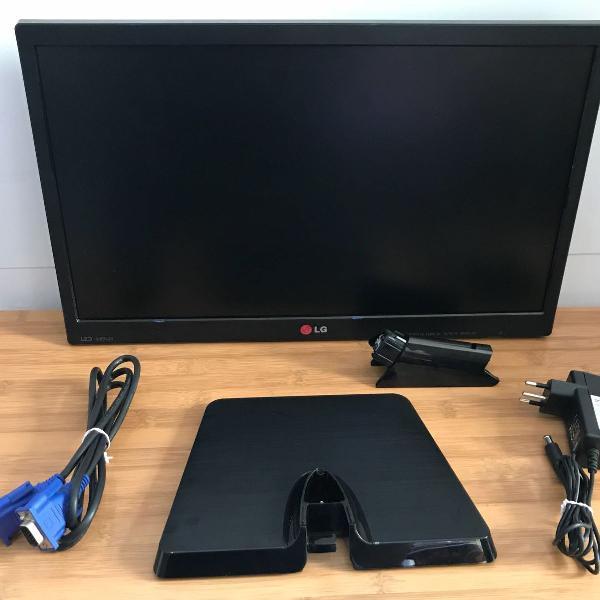 Monitor lg led 19,5 widescreen 20en33ss com caixa