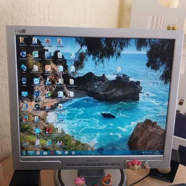 Monitor philips 170s usado