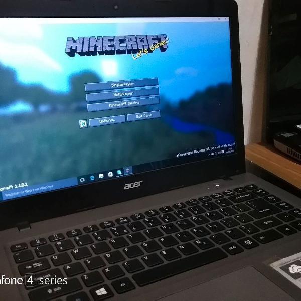 Notebook ultra fino com ssd,bateria aguenta mais de 5 horas