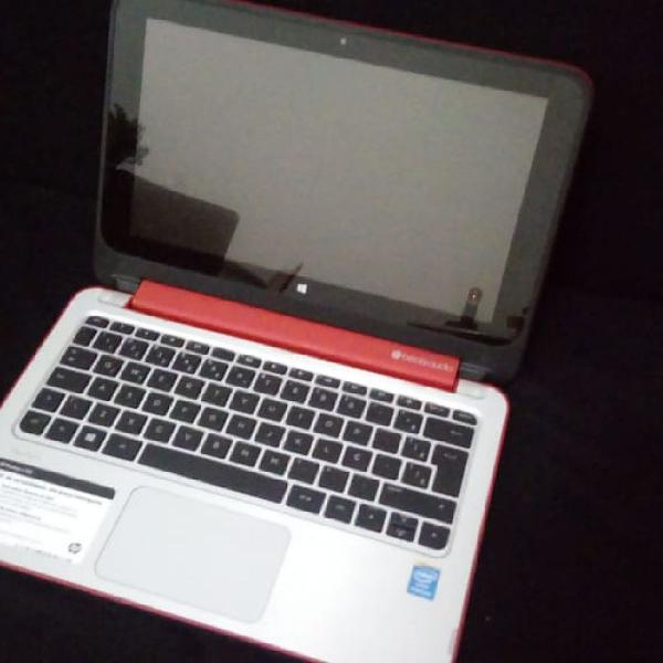 Notebook/tablet hp pavillion x360 touch 4gb ram e 500 gb hd