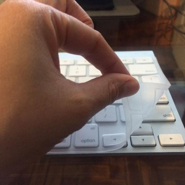Película capa protetora de teclado imac