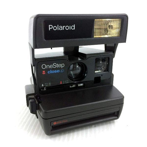 Polaroid one step close-up 600 câmera instantânea