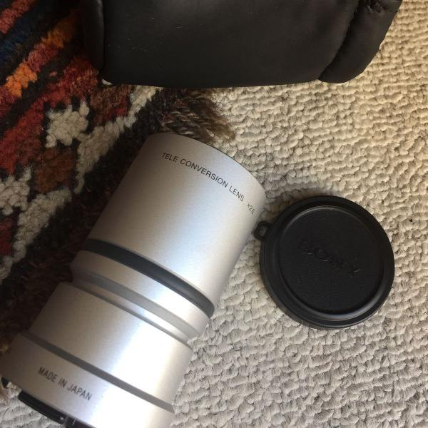 Sony telenconversion lens x2.6