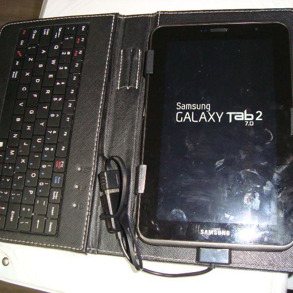 Tablet samsung completão gt3100 com funcao telefone com nf