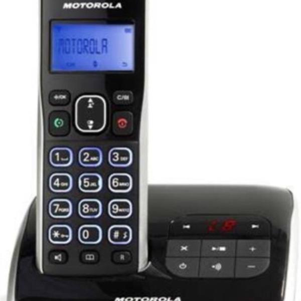 Telefone digital sem fio motorola dect 6.0