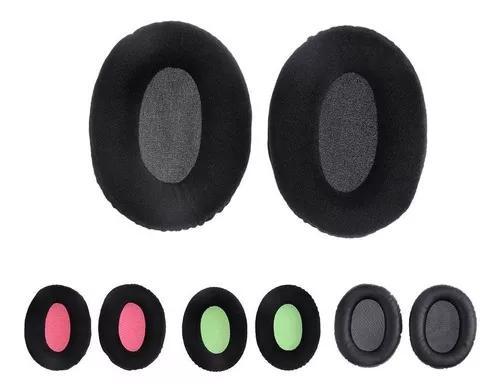 1 par earpads cusões para kingston hyper x cloud ii