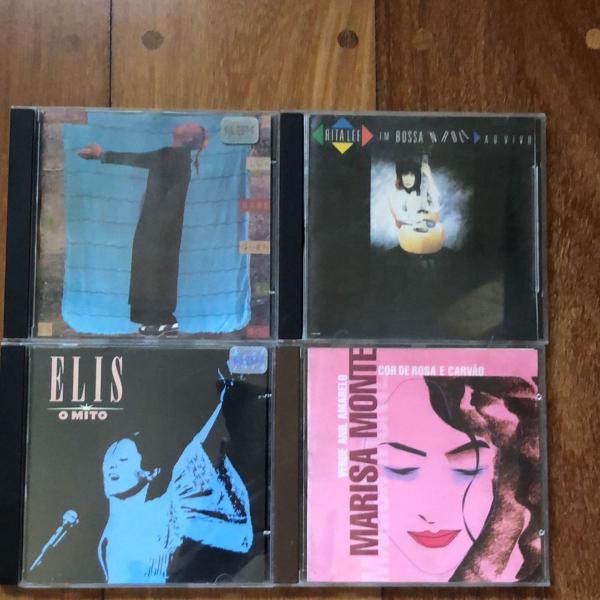 4 cds cantoras mpb