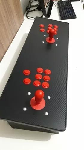 Arcade fliperama portátil 12699 jogos + media center