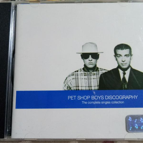 Cd pet shop boys discography
