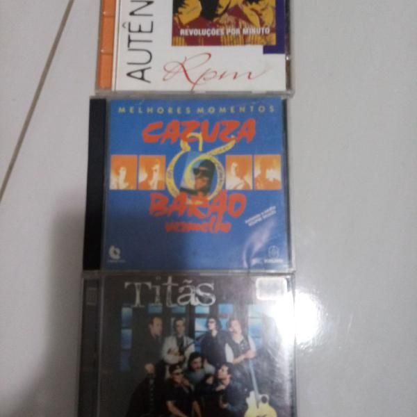 Cds rock brasil anos 80