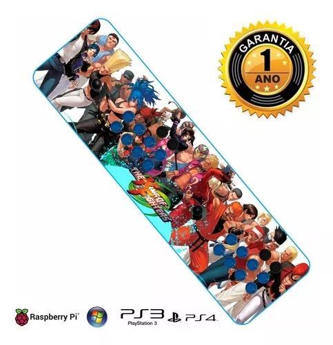 Controle para pc ps3 ps4 modelo arcade fliperama optico