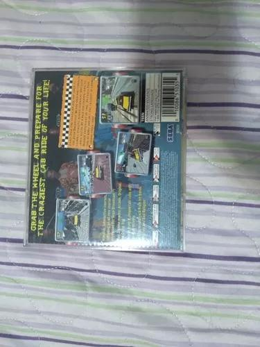Crazy taxi 1 original dreamcast - carta registrada