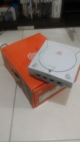 Dreamcast com caixa