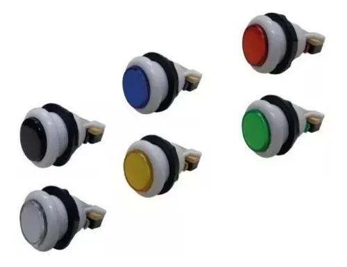 Kit 100 botões redondo acrílico com micro - frete grátis