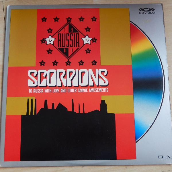 Laserdisc ld - scorpions to russia with love & other