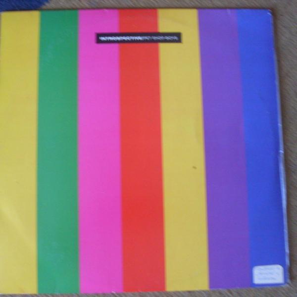 """Lp """"introspective"""" - pet shop boys - 1988"""