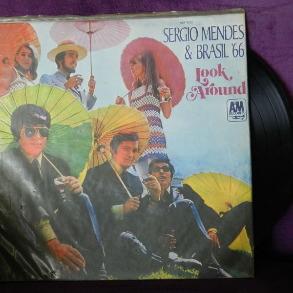 Lp - Vinyl - Sergio Mendes & Brasil 66 - Look Around