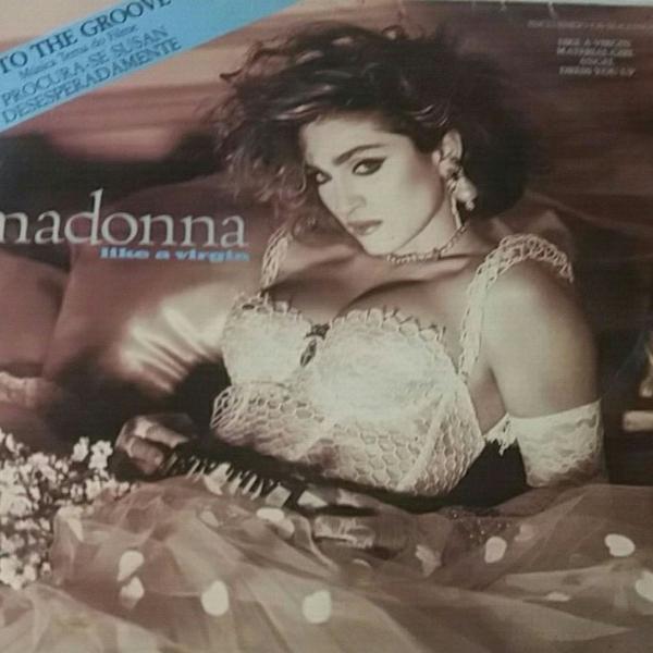 Madonna- like a virgin vinyl